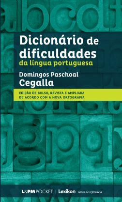 Dicionário de dificuldades da Língua Portuguesa - Domingos Cegalla