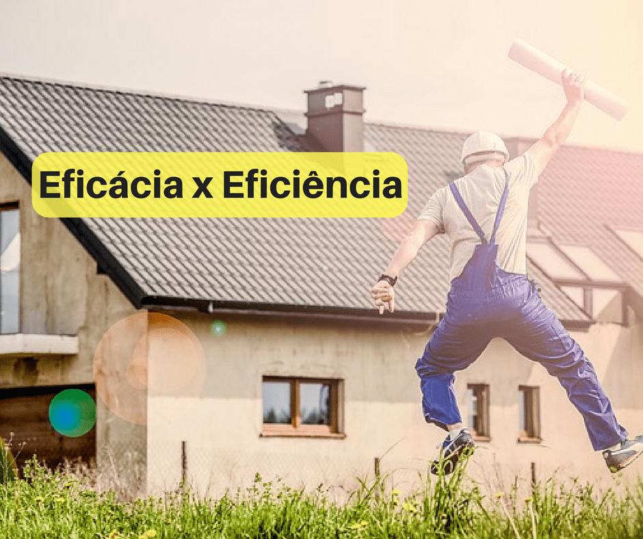 eficaz e eficiente